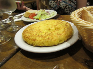 One of my favorite foods from the night; a delicious omlette.