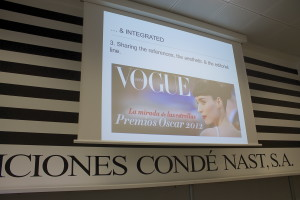 It seemed like everyone in the class enjoyed the visit to Condé Nast!