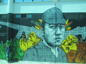 So impressed by all the art and graffiti around Lisbon.