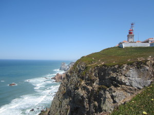 The Atlantic Ocean from the westernmost point of continental Europe.